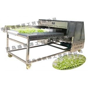 Supply vegetables cut machine