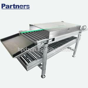 Free carrier roller conveyor