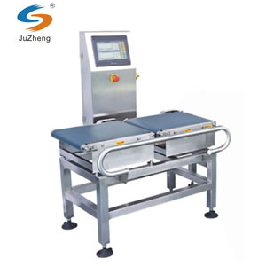 Automatic weight checking sorting machine