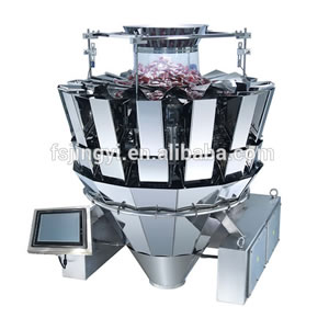 Automatic 14 heads dry products weighing filler machine
